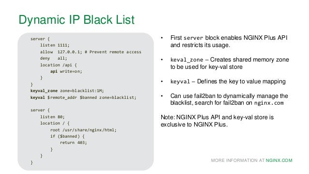 NGINX: Access Management and Security Controls
