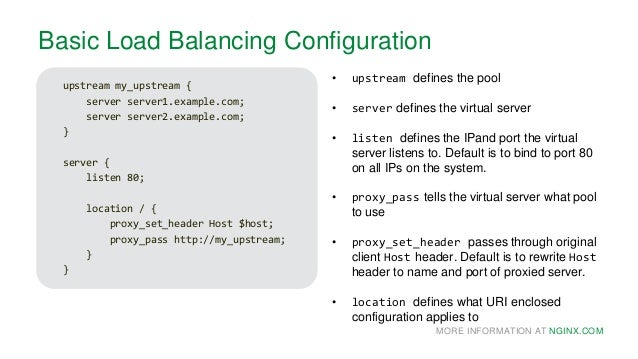 NGINX: High Performance Load Balancing
