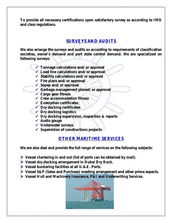 Niha Merchant Marine Services Pdf