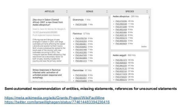 More reliable data for altmetrics services https://www.altmetric.com/blog/new-source-alert-wikipedia/