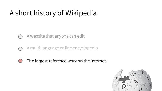 Wikipedia: unintended outcomes accelerate the dissemination of scholarship provide an infrastructure open scientific resea...