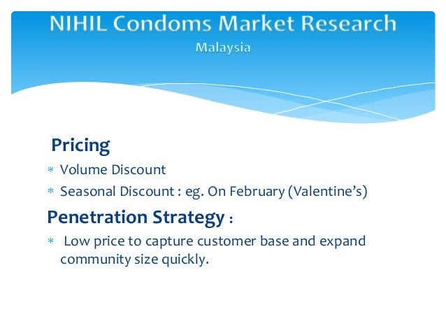 Research report on condom industry in