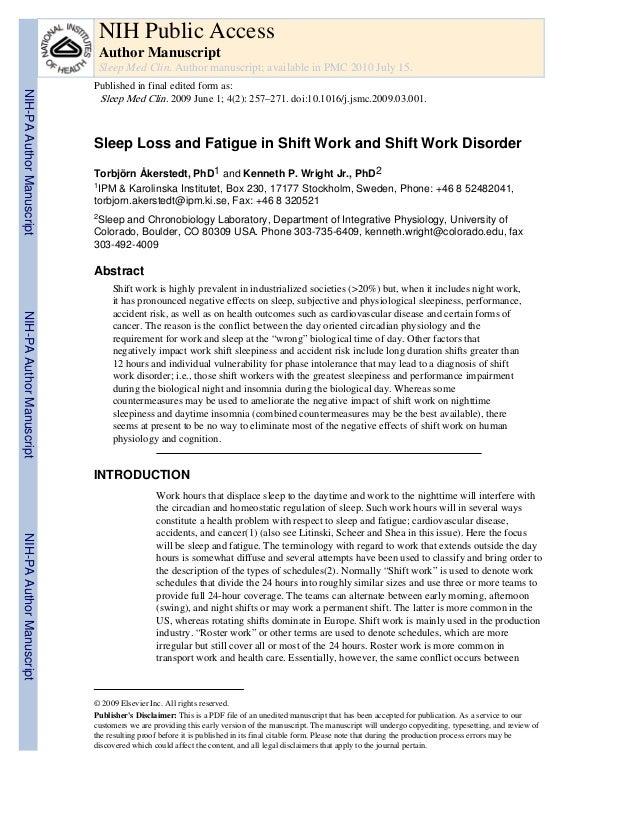NIH Public Access Author Manuscript Sleep Med Clin. Author manuscript; available in PMC 2010 July 15.  NIH-PA Author Manus...