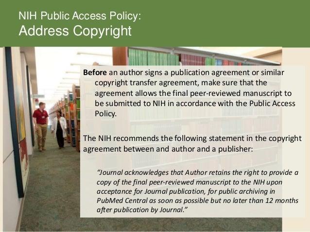 nih public access policy