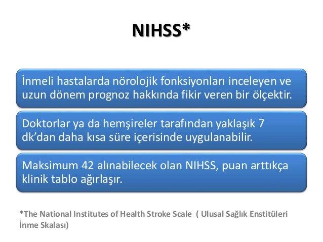 NIHSS, ASPECTS ve Modifiye Rankin Skalası Slide 2