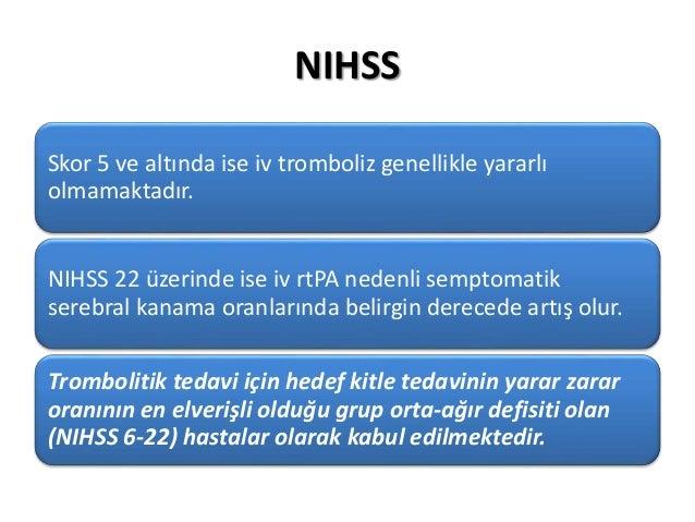 NIHSS, ASPECTS ve Modifiye Rankin Skalası Slide 3