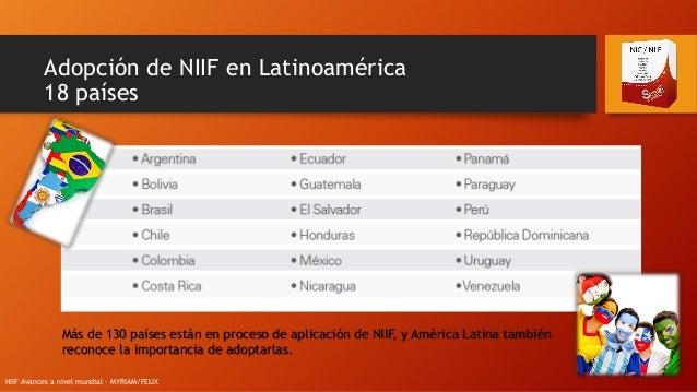NIIF 1 Adopcin por primera vez de las Normas
