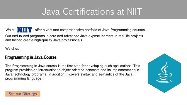 7 Reasons to get a Certification in Java