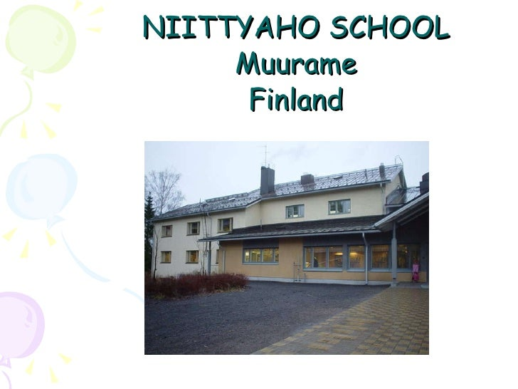 NIITTYAHO SCHOOL Muurame Finland