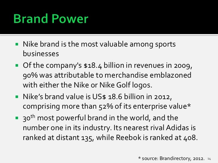 Nike- Strategic analysis