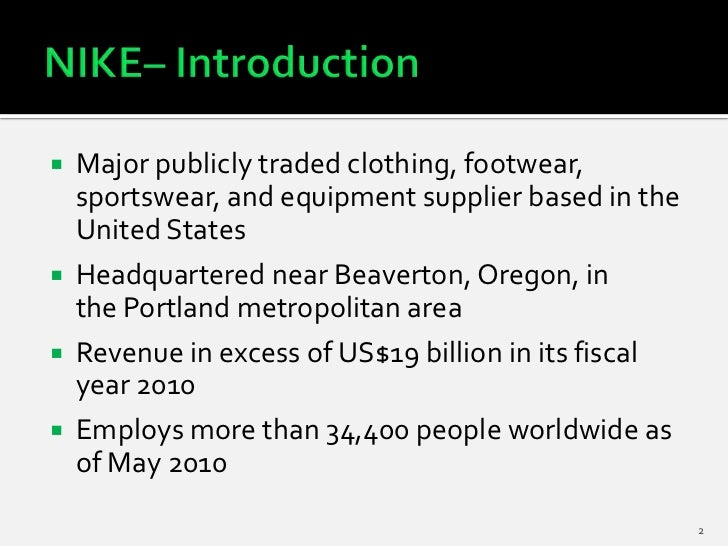strategic analysis nike Nike has a very clear cut business strategy and specific goals it wants to accomplish innovation is at the heart of nike's business growth strategy.