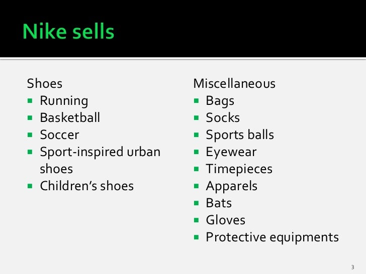 strategic analysis nike Paralysis by analysis: there was a fear among phil knight (nike's  but it would  increase the strategic insight into how to make more effective.
