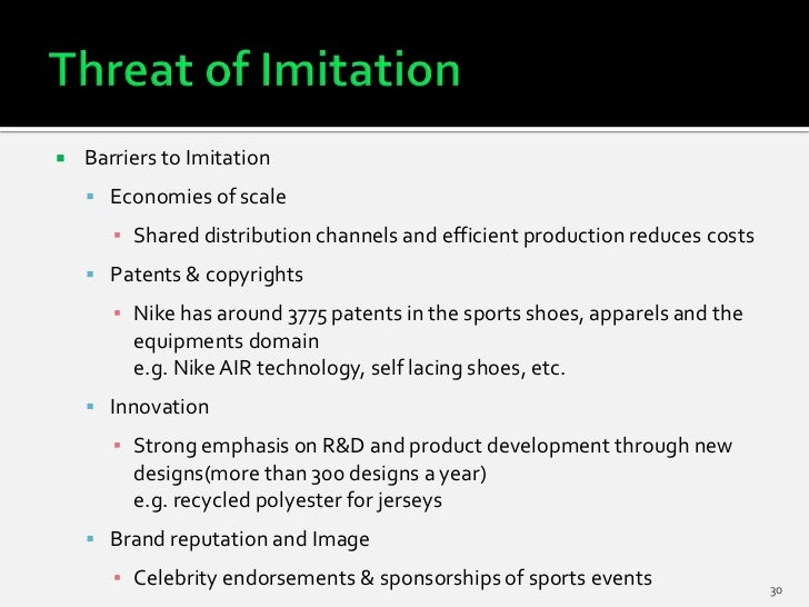    Barriers to Imitation     Economies of scale       ▪ Shared distribution channels and efficient production reduces co...