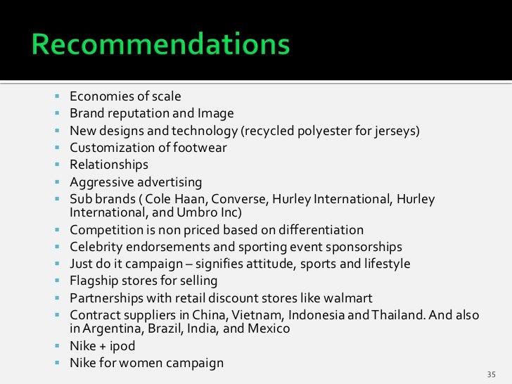 Nike economies of scale
