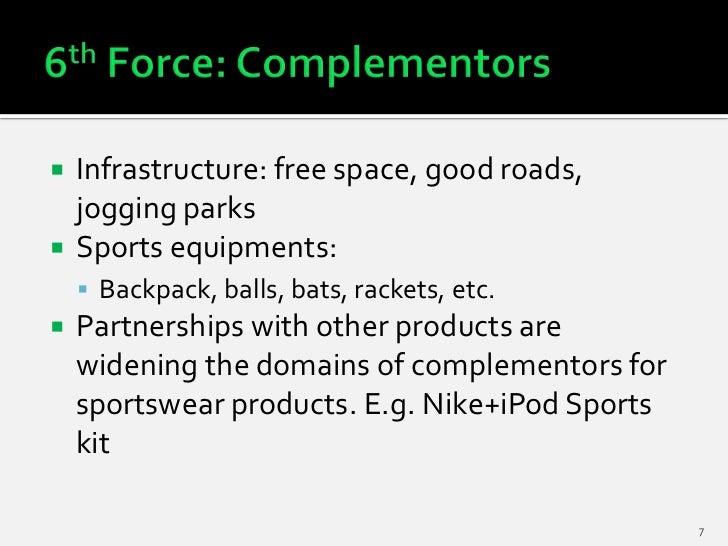    Infrastructure: free space, good roads,    jogging parks   Sports equipments:     Backpack, balls, bats, rackets, et...