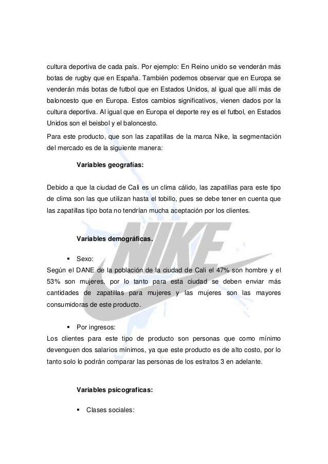Mercado Segmentación Zapatillas De Deportivas Especial Precio ASZWqvOS