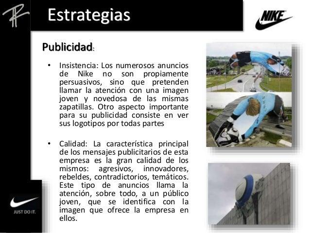 enlace Hacer Guau  Análisis Estratégico de NIKE