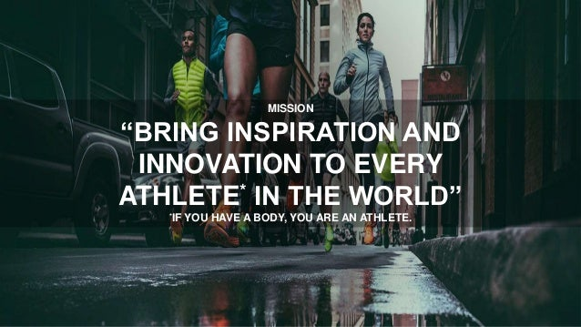 """MISSION """"BRING INSPIRATION AND INNOVATION"""