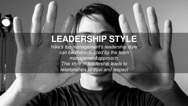Top Management S01 E06: LEADERSHIP STYLE Nike's Top Management's