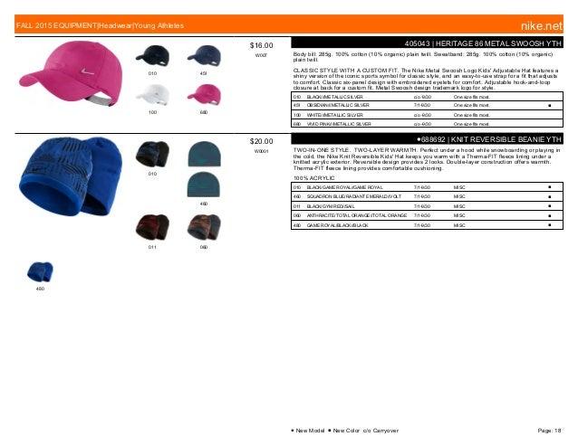 4937d0afd68 Nike Fall 2015 Equipment