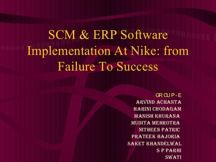 Erp implementation thesis