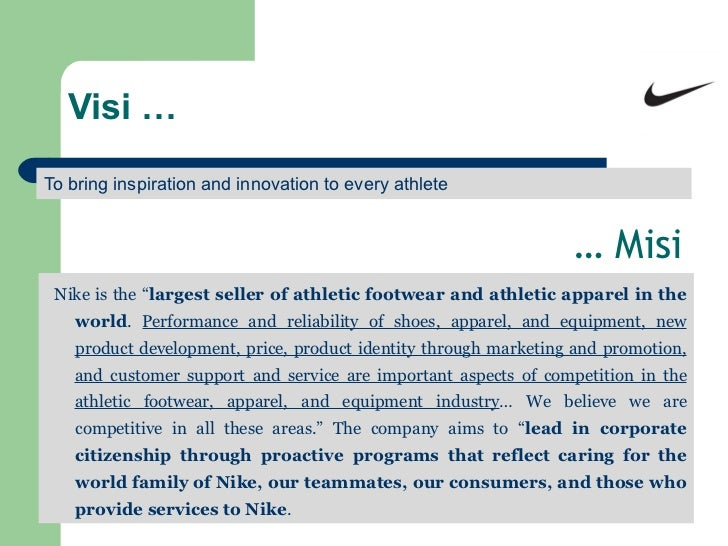 nike organizational audit Nike, inc based near beaverton, oregon, is the world's leading designer, marketer and distributor of authentic athletic footwear, apparel, equipment and accessories for a wide variety of sports and fitness activities.