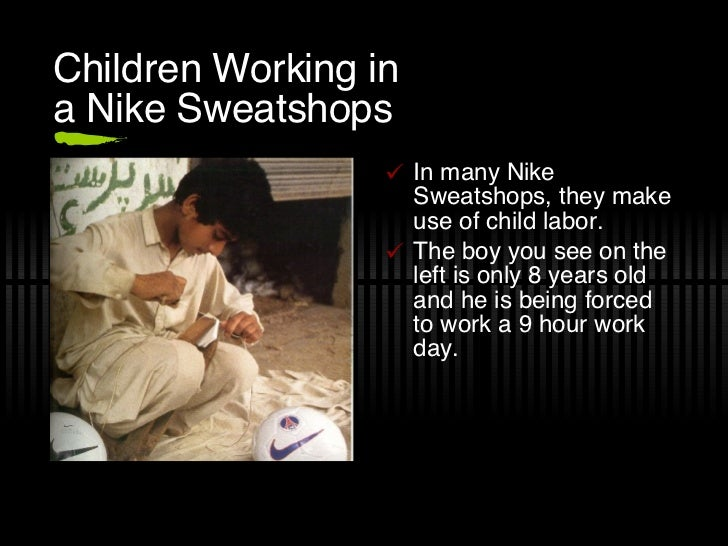 A discussion of the criticism towards nike and its wages