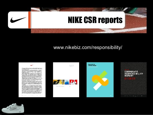 nike csr analysis About nike company profile nike explore team sport research lab contact nike, inc media resources doing business with nike, inc doing business with nike europe.