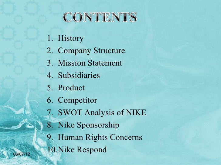 bullshit nike corporate mission statement Nike released the short film as part of the company's new 'equality' campaign   'this is a stupid commercialwe have title 9  and that these values are  worth standing up for and supporting,' the statement read.