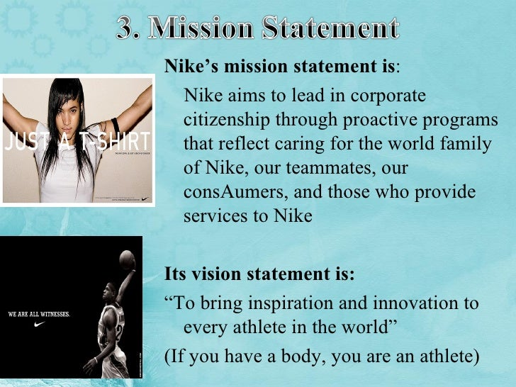 Nike Vision Statement