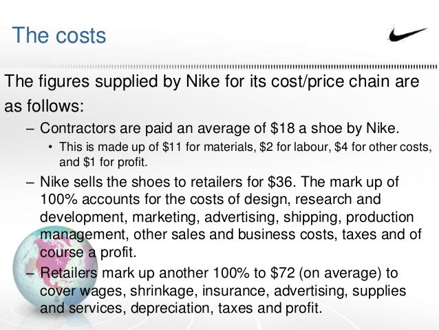 Nike Case Analysis   Cost Of Capital   Beta  Finance  Case Study  of Nike Company Ltd  Question