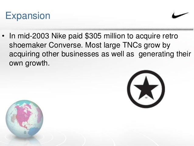 nike tnc geography case study