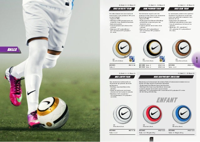 91a827f0a4 Catalogue Nike Coqs Rouges 2013