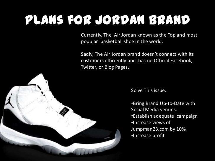 air jordan brand strategy