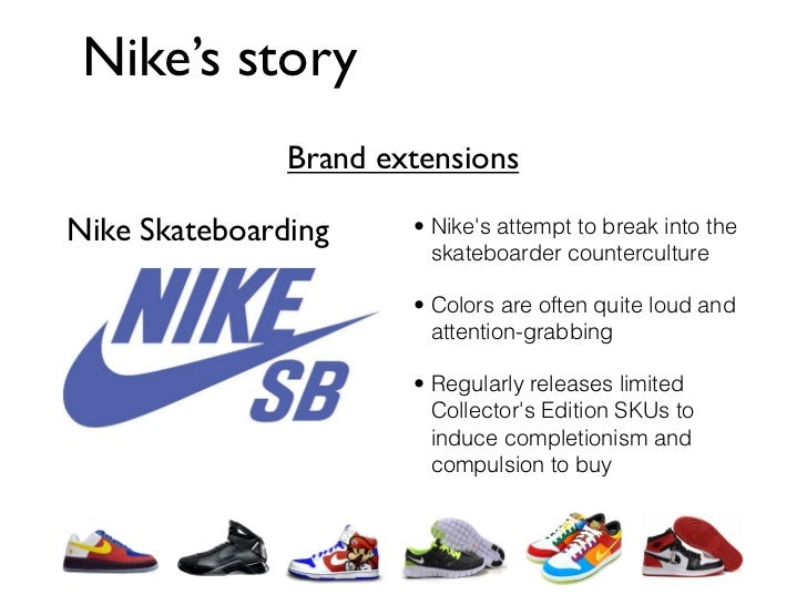 Line extension nike