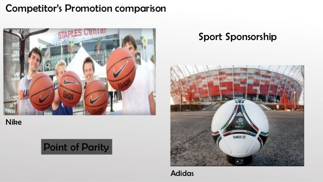 point of parity adidas nike positioning What a difference a year makes  adidas and nike have had years of  association with the top stars and those associations  under amour has  positioned itself very much as a fitness brand over recent years  over the last  three months, its index score has fallen by one point to a score of 104, which.