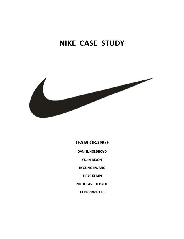 nike strategies The competitive strategy that nike introduced at the end of the 1990's concentrates on honing the focus of our marketing strategies and product offerings through.