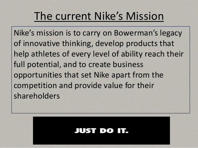 """case analysis of nike Nike on sustainability """"sustainable innovation is a catalyst for revolutionising the way we do business and an opportunity that's been integrated across our business in policies, processes and products."""