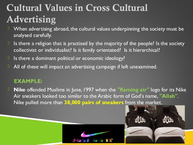 cultural values in advertising