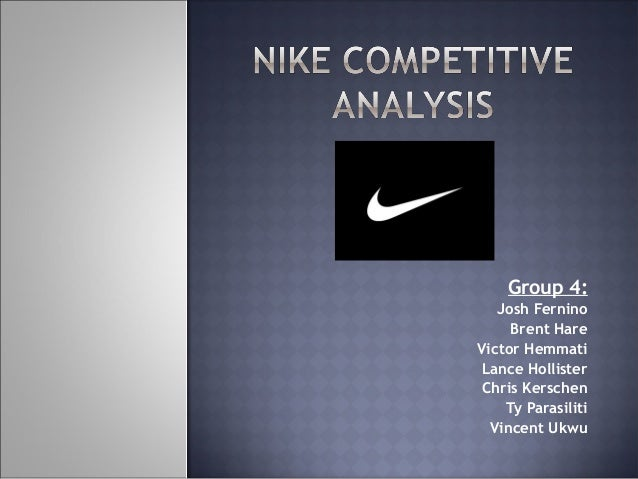 nike competitive advantage analysis 10 executive summary nike was founded in 1972 by philip knight and bill bowerman bowerman is well known in america as the university of oregon coach.