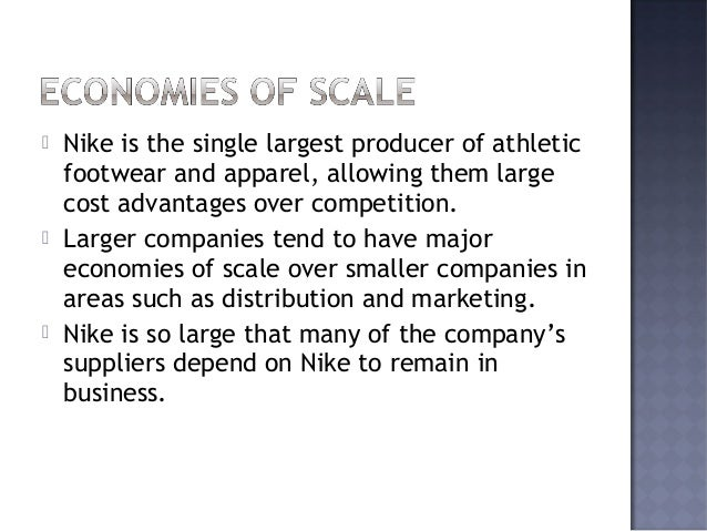     Nike's products are viewed as higher quality and command higher prices than its competitors, sometimes though consum...
