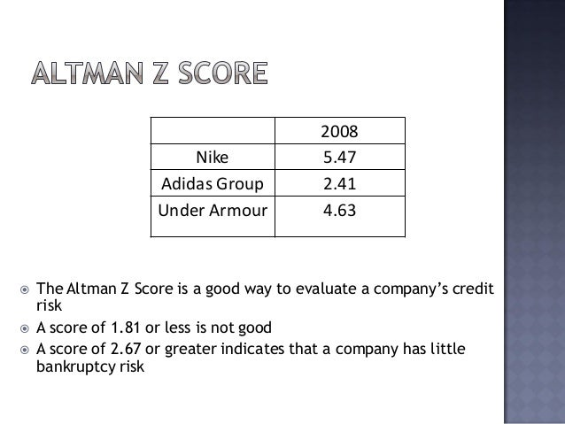 nike competitive analysis Nike's competitive market has expanded and dominated in the international  a  financial analysis helps us compare a company's current.