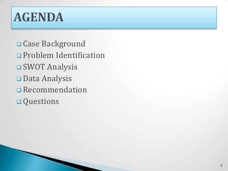 Elektra Products Inc. case analysis