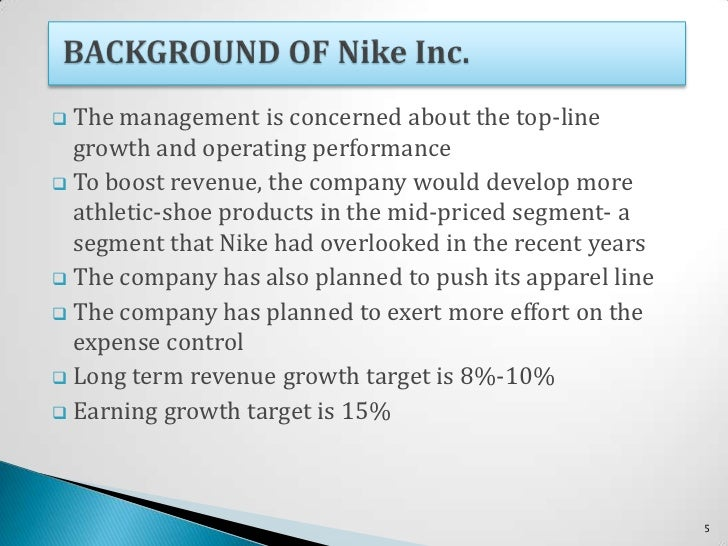case analysis cost of capital at Nike inc cost of capital case analysis - download as (rtf), pdf file (pdf), text file (txt) or read online.