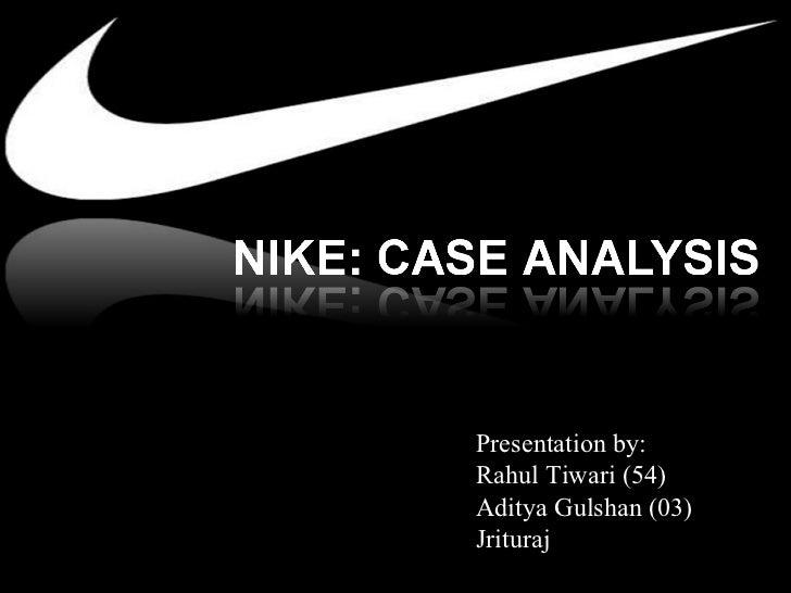nike business ethics case study