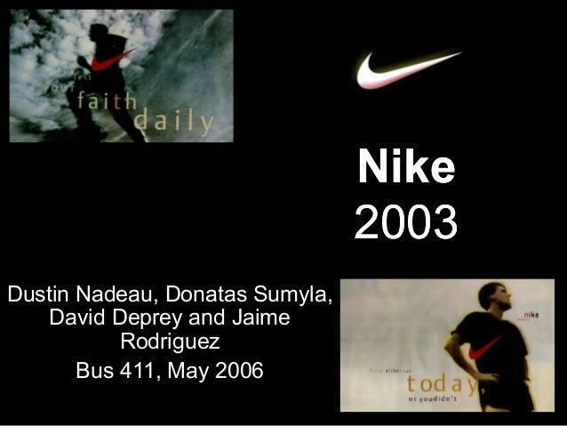 Nike 2003 Dustin Nadeau, Donatas Sumyla, David Deprey and Jaime Rodriguez Bus 411, May 2006