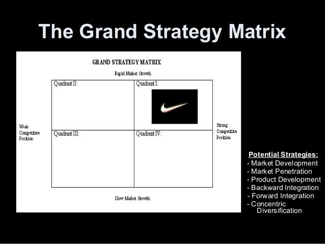 nike market penetration It is also noted that for nike, market penetration strategies is performed daily, whereby the management is committed to become the market leader in each and every of the market the company is serving.