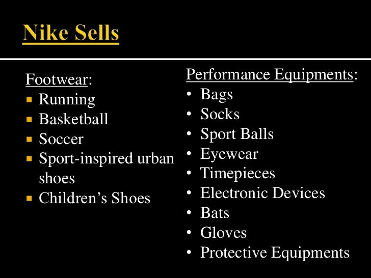 Nike  marketing strategies Slide 3