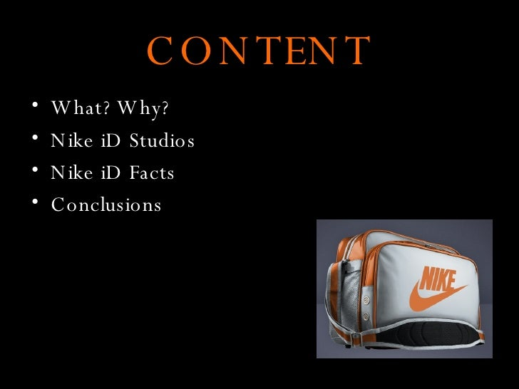 Nike iD- digital marketing Slide 2