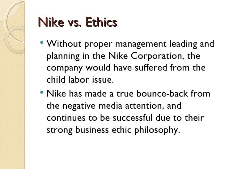 an analysis of the concerning nike s asian labour practices Criticisms of nike's manufacturing practices in order to remain competitive and keep manufacturing costs low, athletic footwear production has moved to areas of the world with low labor costs.